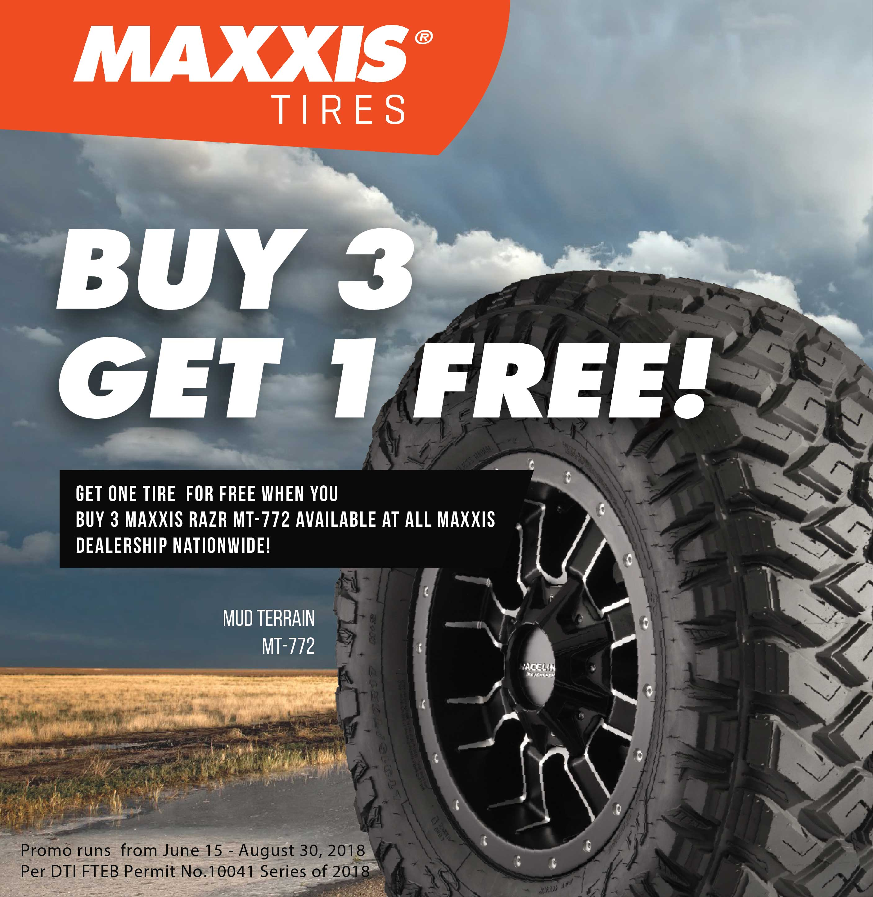 Maxis Buy 3 Get 1 Free MT-772
